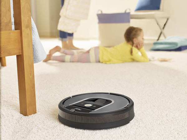 Roomba 960 Cleaning