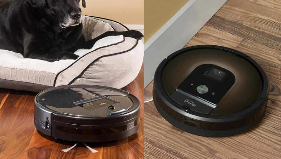bObsweep vs. Roomba