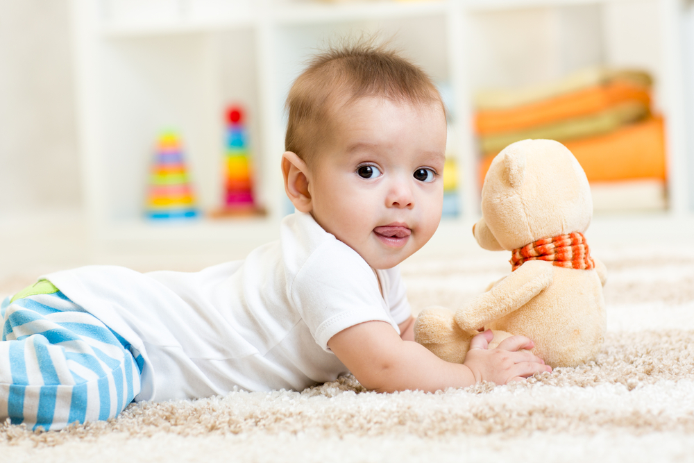 How To Keep Carpet Clean For A Baby