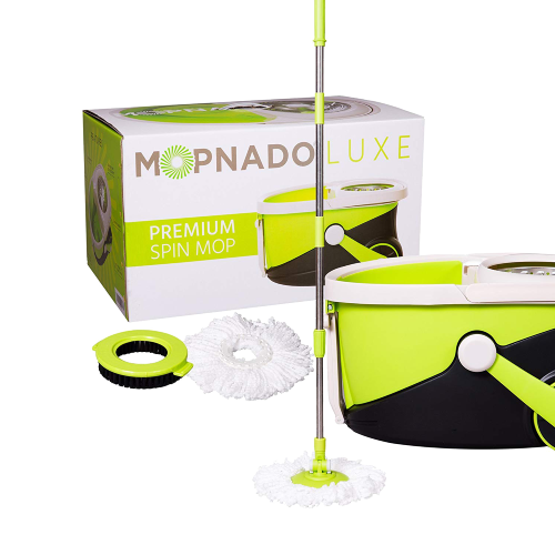 Mopnado Deluxe Stainless Steel Spin Mop