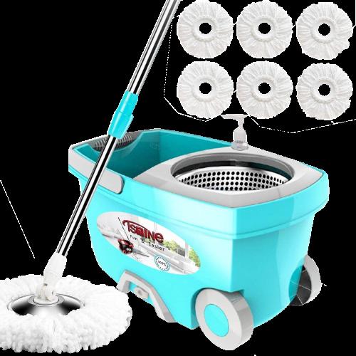 Tsmine Spin Mop