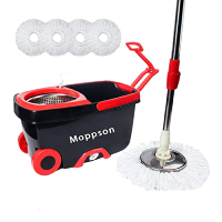 Moppson Cleaning Microfiber Extended Stainless