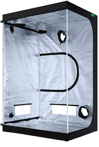 """VIPARSPECTRA 48""""x48""""x80"""" Reflective 600D Mylar Hydroponic Grow Tent"""
