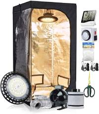 TopoLite 100W Grow Tent Kit