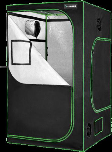 """VIVOSUN 48""""x48""""x80"""" Mylar Hydroponic Grow Tent"""