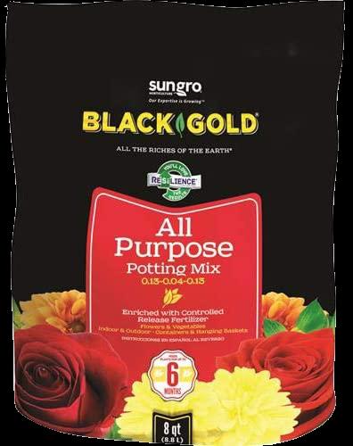 Sungro Black Gold All-Organic Potting Mix Plus